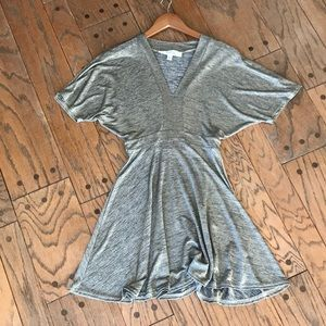 Urban Outfitters Shimmering Gold Dress